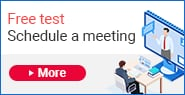 Free test | Schedule a meeting | More