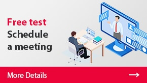 Free test Schedule a meeting | More Details