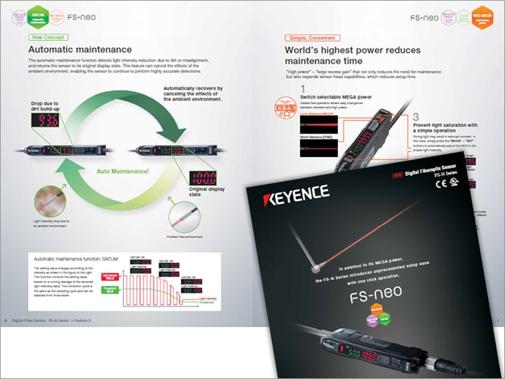 FS-N Series Digital Fibre Optic Sensors Catalogue (English)