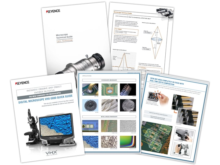 VHX-5000 Series Digital Microscope Quick Guide (English)