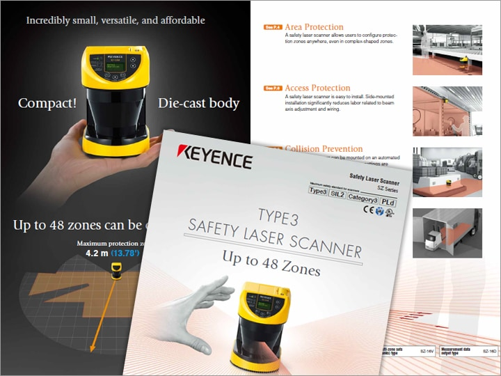 SZ Series Safety Laser Scanner Catalog (English)
