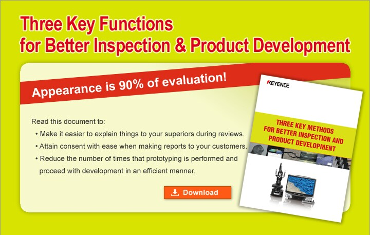 THREE KEY METHODS FOR BETTER INSPECTION AND PRODUCT DEVELOPMENT (English)
