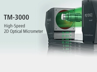 TM-3000 High-Speed 2D Optical Micrometer