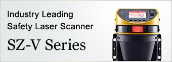 Industry Leading Safety Laser Scanner SZ-V Series