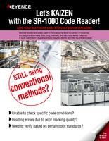 Let's KAIZEN with the SR-1000 Code Reader! [Code Quality Verification]