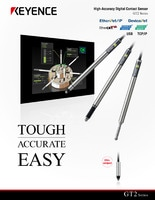 GT2 Series High-Accuracy Digital Contact Sensor Catalogue
